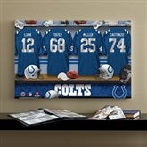 NFL Indianapolis Colts Personalized Locker Room Canvas- 16x24 - 10892-M
