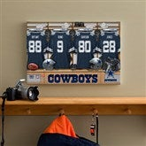 NFL Dallas Cowboys Personalized Locker Room Canvas- 12x18 - 10893-S