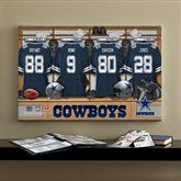 NFL Dallas Cowboys Personalized Locker Room Canvas- 16x24 - 10893-M