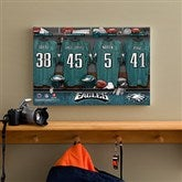 NFL Philadelphia Eagles Personalized Locker Room Canvas- 12x18 - 10895-S