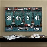 NFL Philadelphia Eagles Personalized Locker Room Canvas- 16x24 - 10895-M