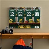 NFL Green Bay Packers Personalized Locker Room Canvas- 12x18 - 10901-S