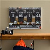 NFL Oakland Raiders Personlized Locker Room Canvas- 12x18 - 10908-S