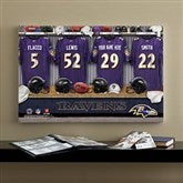 NFL Baltimore Ravens Personalized Locker Room Canvas- 16x24 - 10910-M