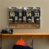 NFL New Orleans Saints Personalized Locker Room Canvas- 12x18 - 10912-S