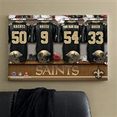 NFL New Orleans Saints Personalized Locker Room Canvas - 24x36 - 10912-L