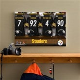 NFL Pittsburgh Steelers Personalized Locker Room Canvas- 12x18 - 10914-S
