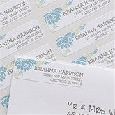 Floral Message Return Address Labels - 10919