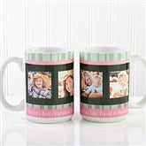 Photo Message to Her Personalized Coffee Mug 15 oz.- White - 10923-L