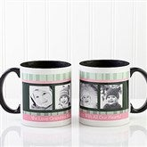 Photo Message to Her Personalized Coffee Mug 11 oz.- Black - 10923-B