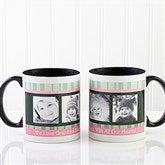 Photo Message to Her Personalized Coffee Mug 11 oz.- Black - 10923-B