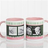Photo Message to Her Personalized Coffee Mug 11 oz.- Pink - 10923-P