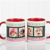 Photo Message to Her Personalized Coffee Mug 11 oz.- Red - 10923-R