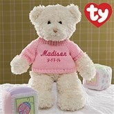 Baby Girl Plush Bear - 10938-G