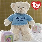 New Arrival Personalized Ty® Teddy Bear-Boy - 10938-B