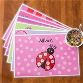 You Choose Girls Personalized Laminated Placemat - 10939