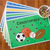 You Choose Boys Personalized Laminated Placemat - 10940