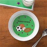 All Star Personalized Melamine Bowl - 10941D-B