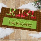 Welcome To Our Workshop Personalized Oversized Doormat- 24x48 - 10955-O