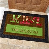 Welcome To Our Workshop Personalized Doormat- 20x35 - 10955-M
