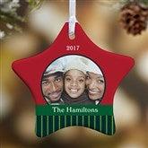 1-Sided Precious Photo Personalized Star Ornament - 10986-1
