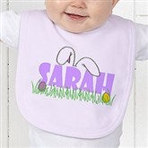 Ears To You Personalized Easter Baby Bib - 1100-B