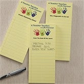 Touches A Life Personalized Notepad Set Of 3 - 11009