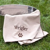 Dogs Unleashed™ Personalized Dog Towel - 11010-T