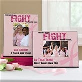 Fight To Find The Cure Personalized Frame - 11017