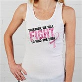 Fight To Find The Cure© Personalized Ladies Tank - 11019-T