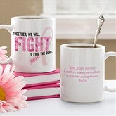 Fight To Find The Cure Personalized Coffee Mug- 11 oz. - 11023-S