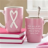 Courage & Strength© Personalized Pink Mug - 11025