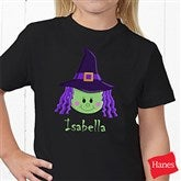 Lil' Witch Personalized Hanes® Youth T-Shirt - 11028-YCT
