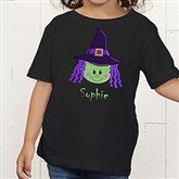 Lil' Witch Personalized Toddler T-Shirt - 11028-TT