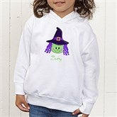Lil' Witch Personalized Toddler Hooded Sweatshirt - 11028-CTHS