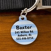 Pick Your Design Personalized Pet ID Tag - Circle - 11050-C