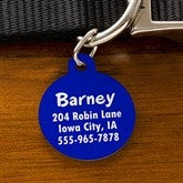 You Name It Personalized Pet Tag - Circle - 11051-C