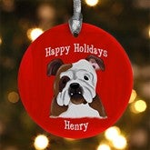 Top Dog Breeds Personalized Ornament - 11054
