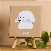 Top Dog Breeds Personalized Canvas Art--5 1/2