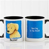 Top Dog Breeds Personalized Coffee Mug 11oz.- Black - 11075-B