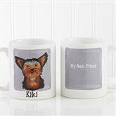 Top Dog Breeds Personalized Coffee Mug 11oz.- White - 11075-S