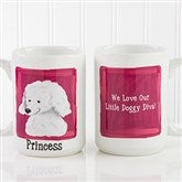 Top Dog Breeds Personalized Coffee Mug- 15oz. - 11075-L