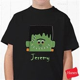Freaky Frankie Youth Black T-Shirt - 11096YT