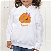 Miss Pumpkin Toddler Hooded Sweatshirt - 11097-CTHS