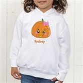 Miss Pumpkin Toddler Hooded Sweatshirt - 11097-CTHS