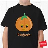 Pumpkin Pal Youth Black T-Shirt - 11098YT