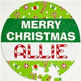 Merry Christmas Personalized 26 Pc Puzzle - 11109-26