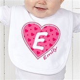 She's All Heart© Personalized Bib - 11132-B