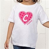 She's All Heart Personalized Toddler T-Shirt - 11132TT