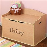Personalized Austin Toy Box - Natural - 11165D-N